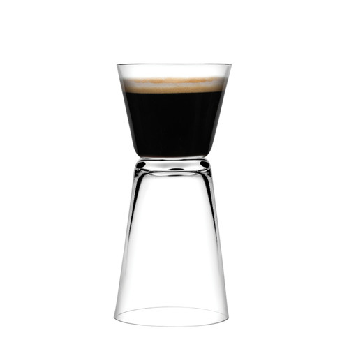 Nude - Dual Espresso Glass 24/Case - NG22298