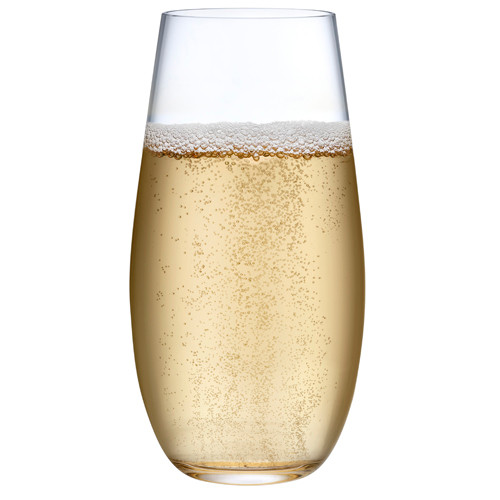 Nude - 8 oz Pure Champagne Glass 24/Case - NG29512