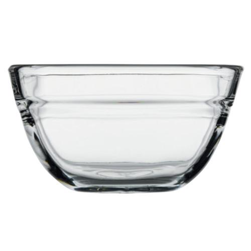 Pasabahce - 15 oz. (445ml) Stackable Square Bowl 6/Case - PG53113