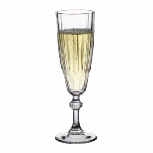 Pasabahce - 5-3/4 oz Diamond Champagne Flute 12/Case - PG440069