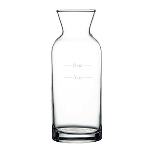 Pasabahce - 12 Oz. Rim Full (With 5 Oz. & 8 Oz. Fill Lines)  Village Carafe 12/Case - PG43804-5-8