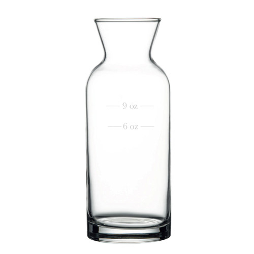 Pasabahce - 12 Oz. Rim Full (With 6 Oz. & 9 Oz. Fill Lines) Village Carafe 12/Case