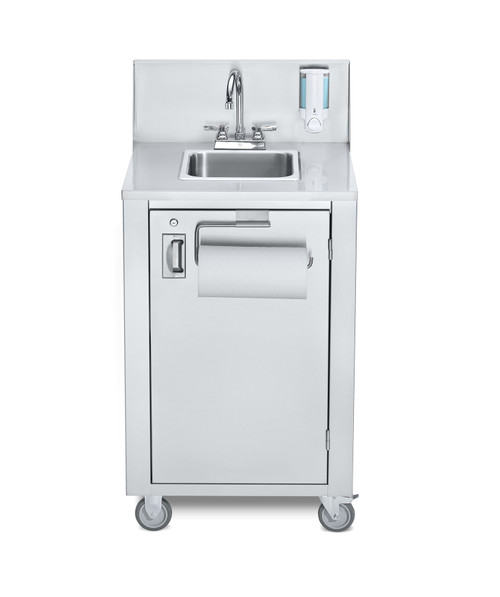 Crown Verity - Portable Space Saver Hot & Cold Handwash Sink - CV-PHS-4