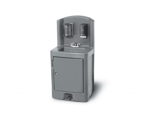 Crown Verity - Hot & Cold Water Polyethylene Hand Sink - CV-PHS-5