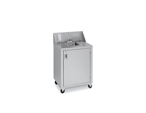 Crown Verity - Portable Space Saver Cold Water Handwash Sink - CV-PHS-4C