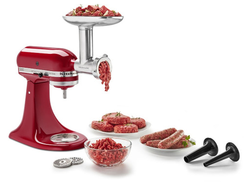 KitchenAid - Metal Food Grinder Attachment