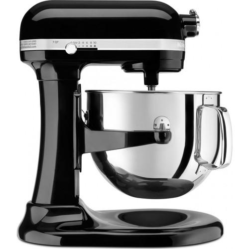 KitchenAid - Pro Line Onyx Black 7 Qt Stand Mixer - KSM7586POB