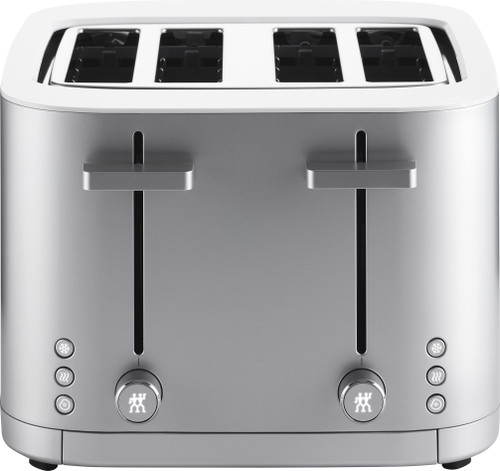 Zwilling - Enfinigy Silver 4 Slice Toaster