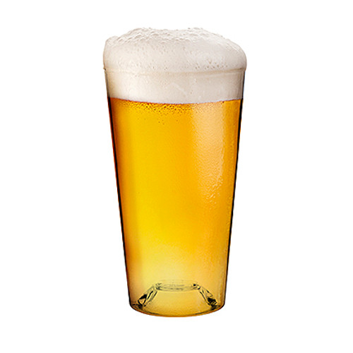 Masterbrew - 20 Oz Crack Proof Pint Glass (Set of 4)