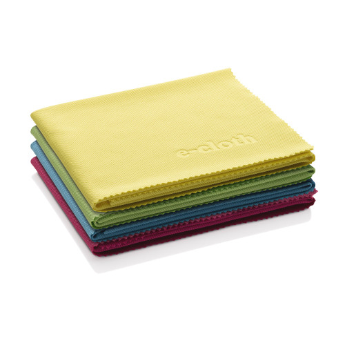 E-Cloth - 4 Glass & Polishing Cloths