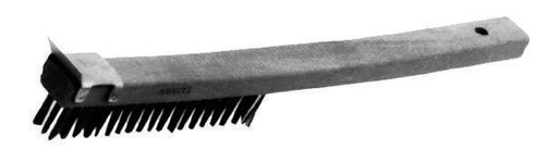 Johnson-Rose - Wire Brush with Scraper - 3290