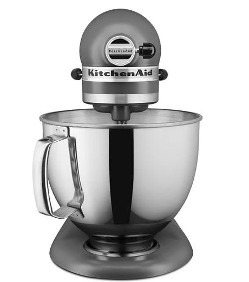 KitchenAid - Matte Gray 5 Qt Artisan Stand Mixer