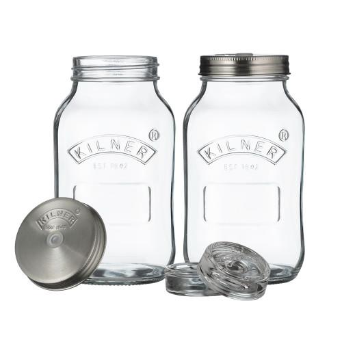 Kilner - 1L Fermentation Jar Set (Set of 2)