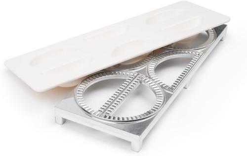 Fox Rim - 6 Cup Aluminum Pierogi Maker
