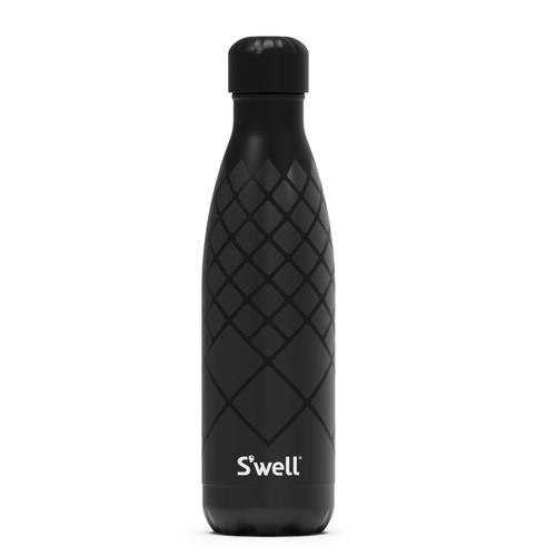 S'Well - 500ml (17 oz) Black Diamond Roxy Bottle