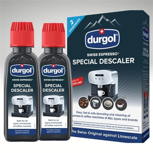 Durgol - Swiss Espresso Machines Descaler 4.2 oz (2 Pack)