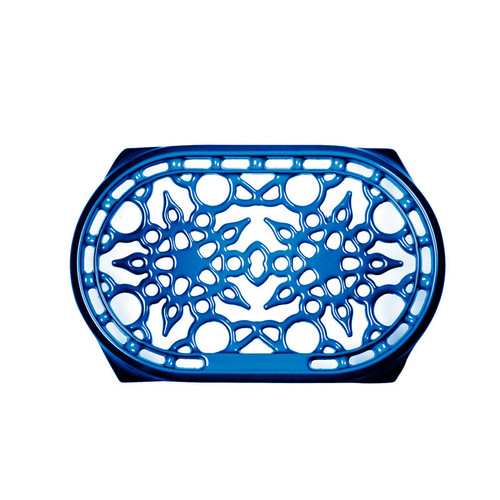 "Le Creuset - 9.5"" (27 cm) Bluberry Deluxe Oval Trivet"