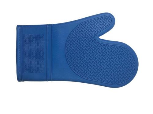 "Port-Style - Blue 12"" Silicone Oven Mitt - PRO2000BL"