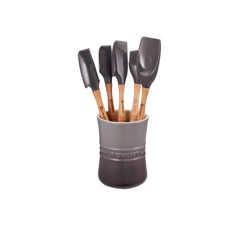 Le Creuset -  6 Piece Oyster Revolution Silicone Utensil Set