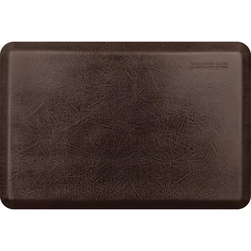 Wellness Mats - 3' x 2' Dark Antique Leather Collection