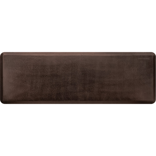 Wellness Mats - 6' x 2' Dark Antique Leather Collection