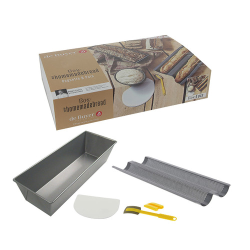 De Buyer - 4 Pc Home Baking Bred Box