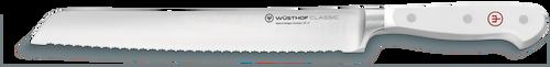 "Wusthof - 9"" Classic White Double Serrated Bread Knife"