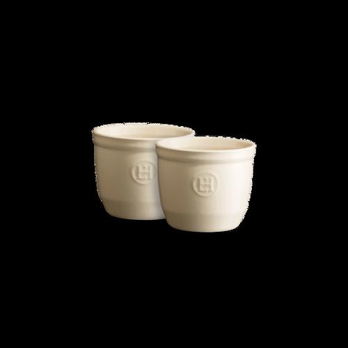 Emile Henry - Argile 0.2L 2 Piece Ramekin Set