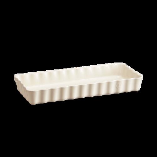 Emile Henry - Argile Slim Rectangular Tart Dish