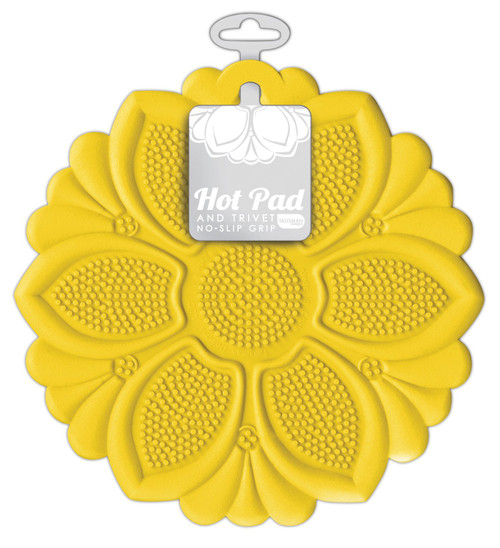 Talisman Designs - Yellow Lily Hot Pad and Trivet