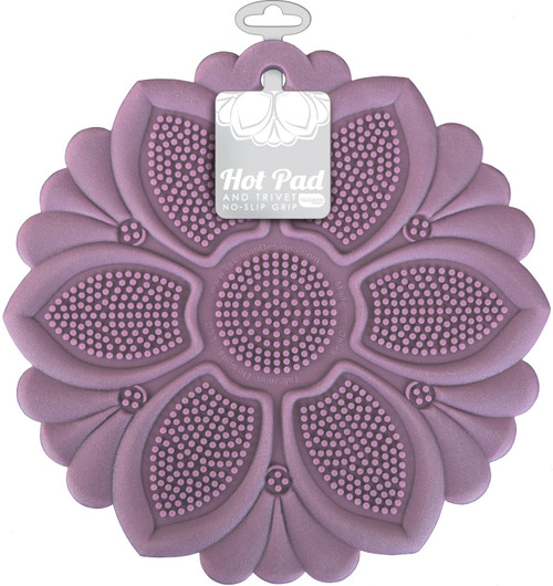 Talisman Designs - Lavender Lily Hot Pad and Trivet