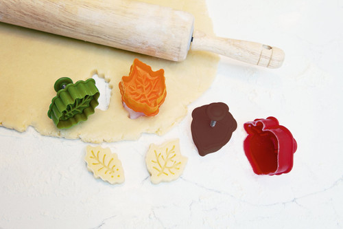 Talisman Designs - Pie Crust Cutters (Set of 4)
