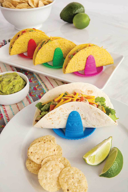 Talisman Designs - Sombrero Taco Holders (Set of 4)