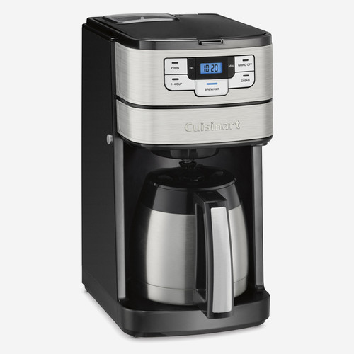 Cuisinart - 10-Cup Automatic Grind & Brew Coffeemaker