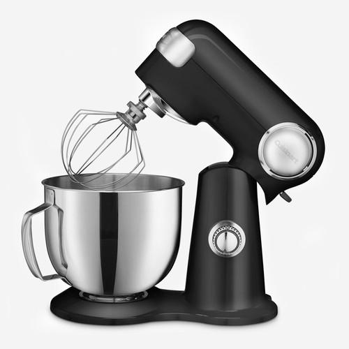 Cuisinart - 5.5QT (5.2L) Black Precision Master Stand Mixer
