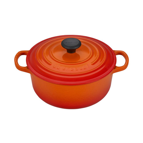 Le Creuset - 2.4 L (2.5 Qt) Flame French Round Dutch Oven