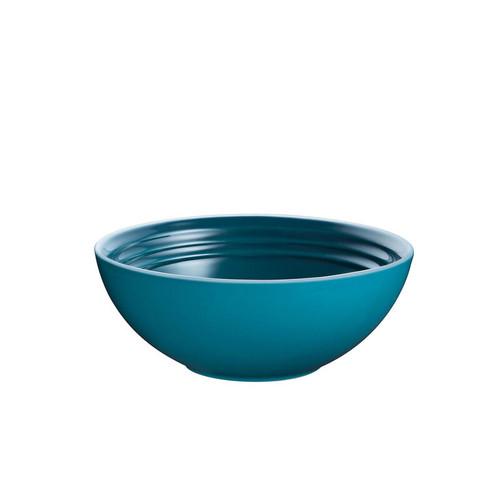 """Le Creuset - 6"""" (15cm) Teal Cereal Bowls - Set of 4"""