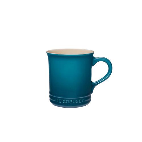Le Creuset - .35 L (0.35 QT) Teal Coffee Mug (Set of 4)