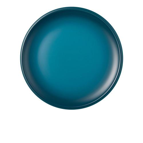 """Le Creuset - 10.5"""" (27 cm) Teal Minimalist Dinner Plates - Set of 4"""