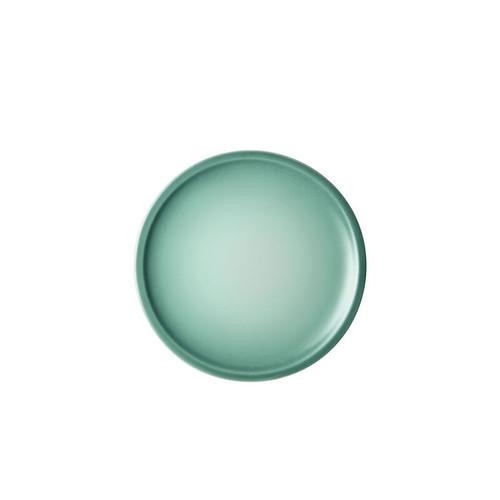 """Le Creuset - 6.7"""" (17cm) Sage Minimalist Appetizer Plates - Set of 4"""