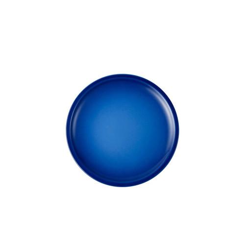 """Le Creuset - 6.7"""" (17cm) Blueberry Minimalist Appetizer Plates - Set of 4"""