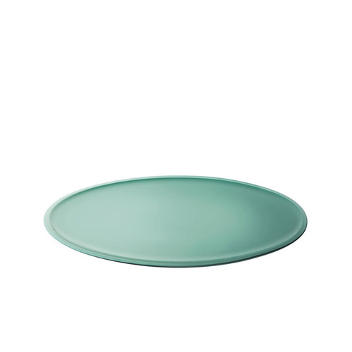 "Le Creuset - 14"" (35.5cm) Sage Minimalist Oval Serving Platter"