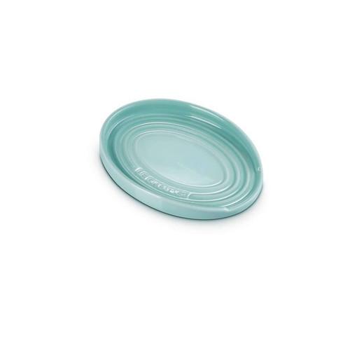 """Le Creuset - 6"""" (16cm) Sage Oval Spoon Rest"""