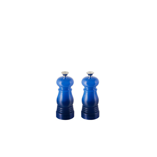 "Le Creuset - 4"" (11cm) Blueberry Salt & Pepper Mill - Set of 2"
