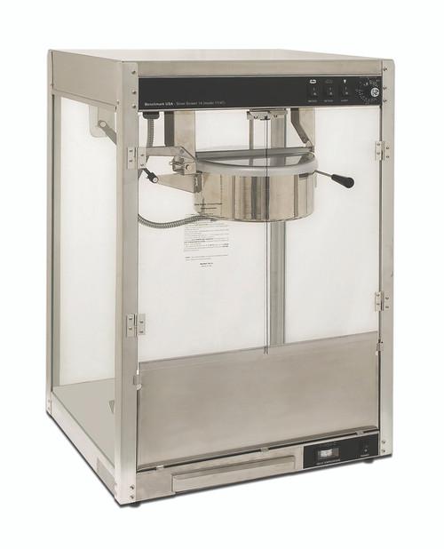 Benchmark - 14 Oz Silver Screen Popcorn Machine 120V