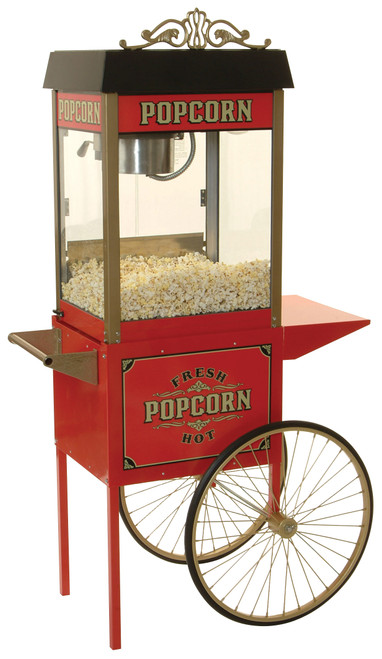 Benchmark - Antique Trolley Cart for Street Vendor Popcorm Machine