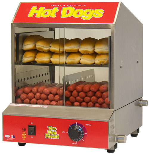Benchmark - The Dog Pound Hot Dog Steamer 120V