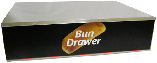 Benchmark - Dry Hot Dog Bun Box for 30 Dog Roller Grill