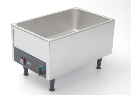 """Benchmark - Stainless Steel 12"""" x 20"""" Food Warmer 120v"""
