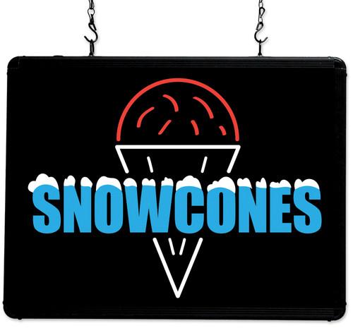 Benchmark - Ultra-Brite Snow Cones Sign 120v